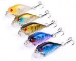 derangelshop.com Wobblerset Crankbait Wobbler- Set 45mm 4,5cm 4g DHC007